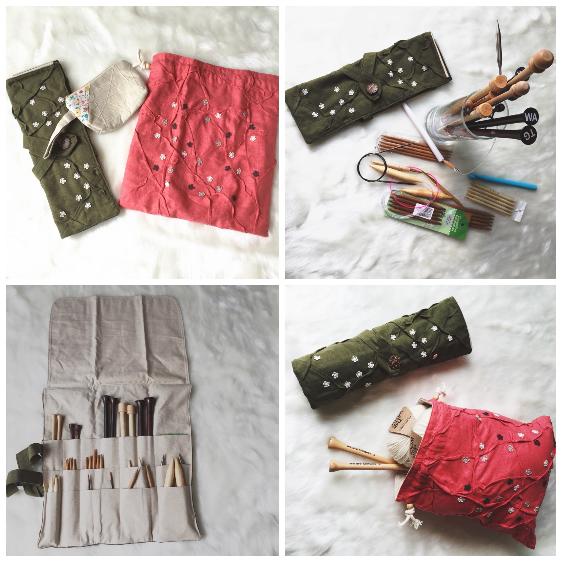 KnittingNeedleCaseandProjectTote