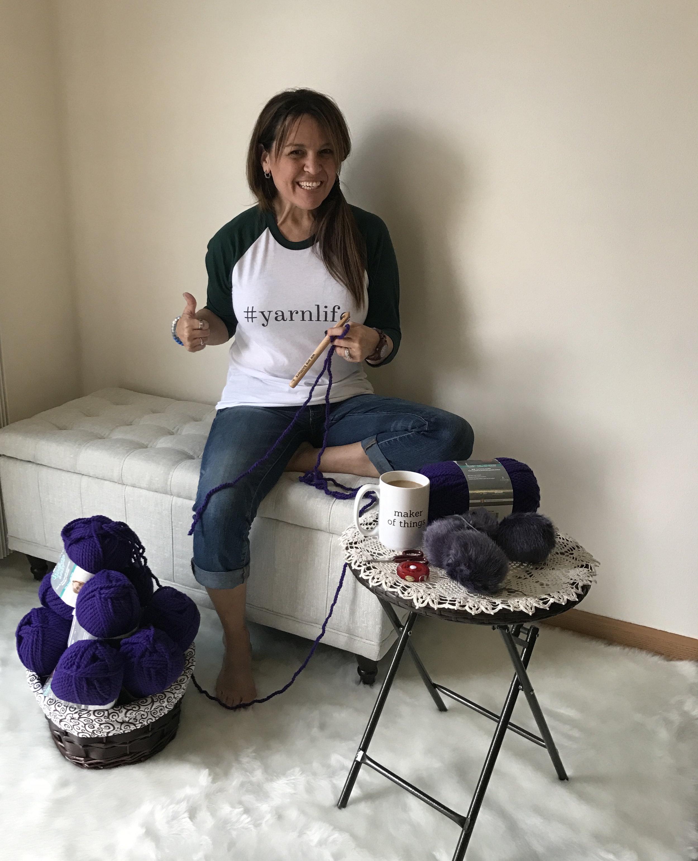 Baskey Of Purple