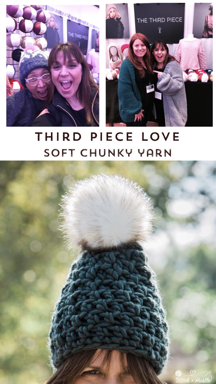 Boulder beanie in Third Piece Soft Chunky Yarn