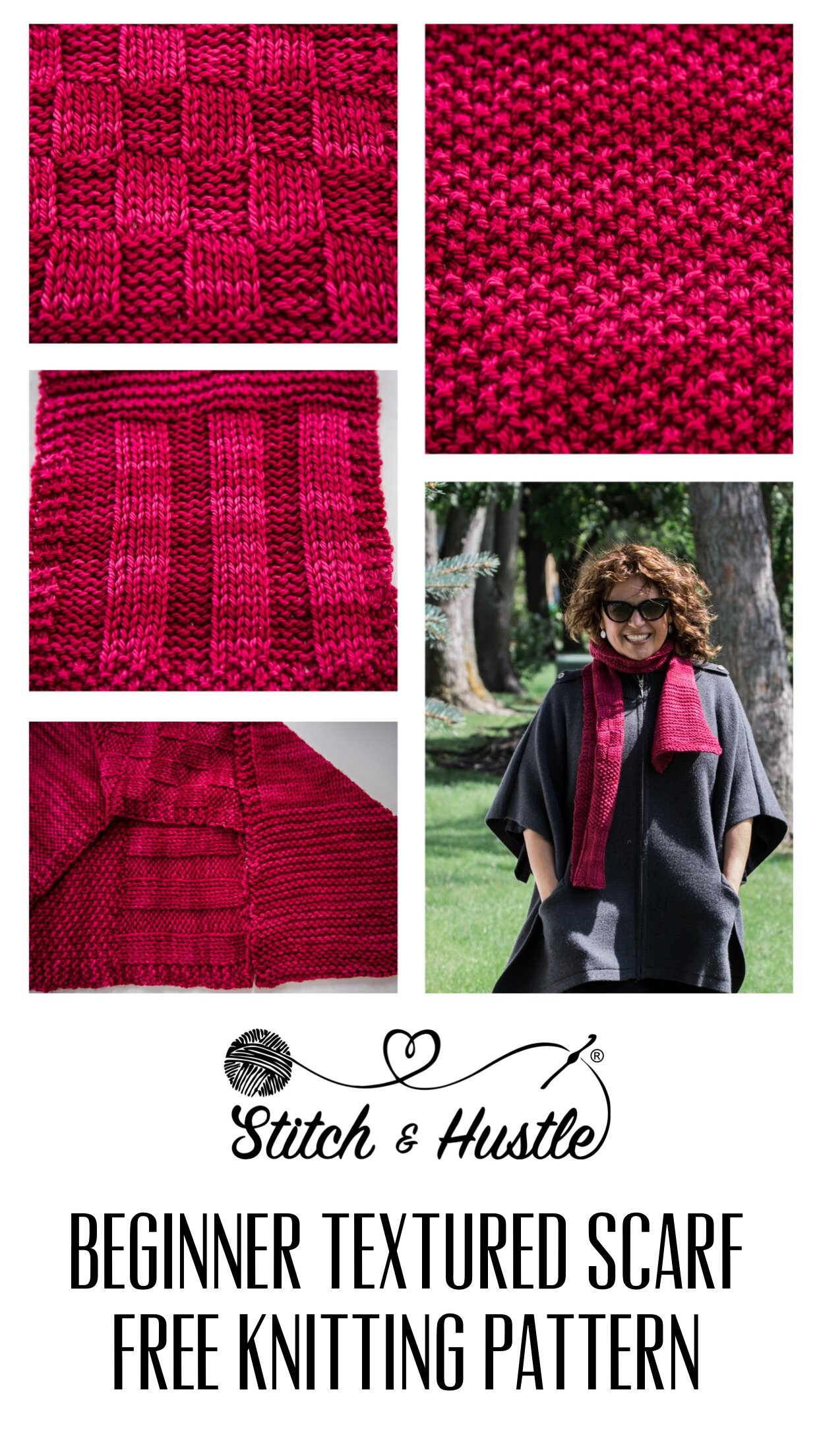Beginner Knitting Sampler Scarf Free Pattern 7