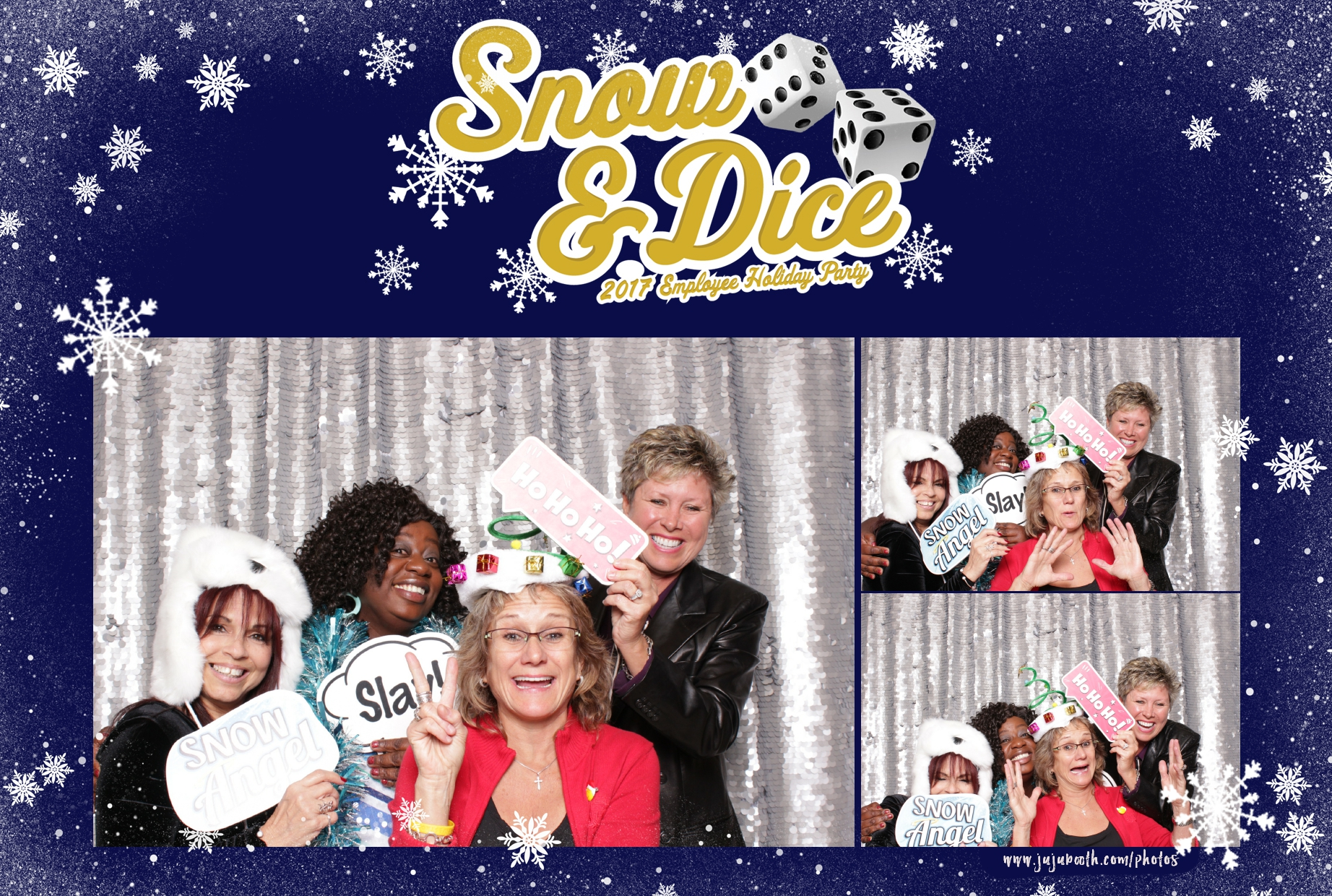 Florida Holiday Party Photo Booth
