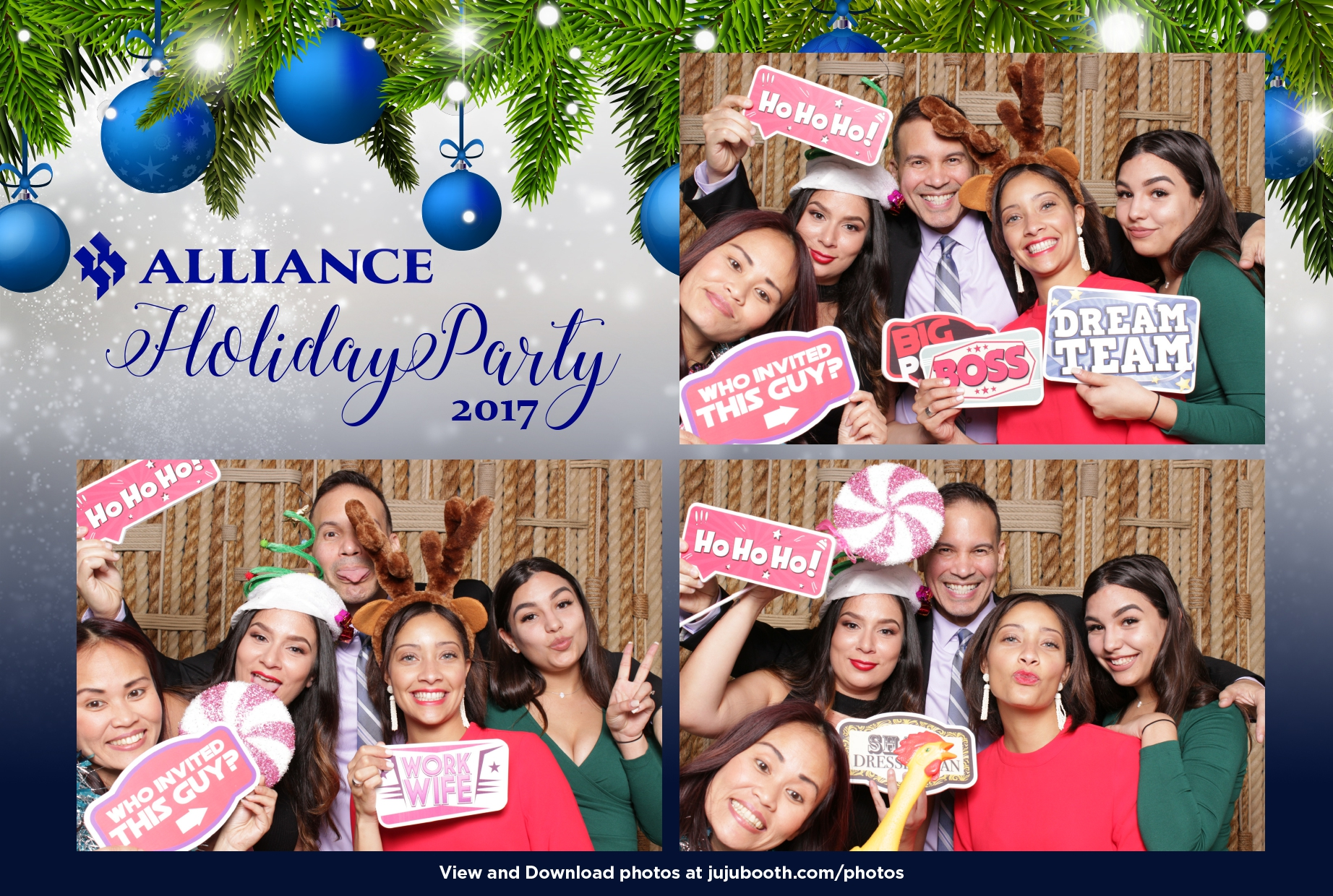 Corporate Holiday Party Photo Booth Florida