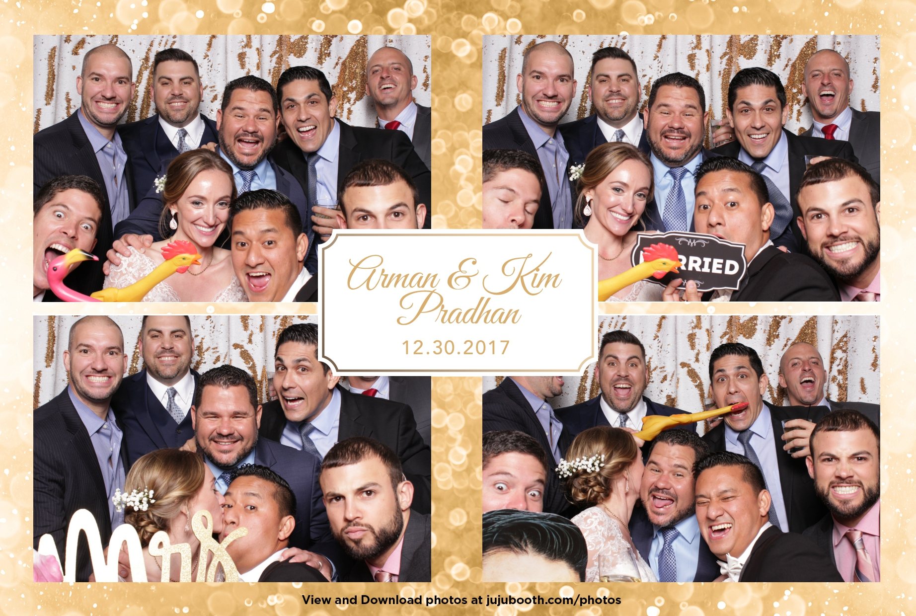Fort Lauderdale Wedding Photobooth