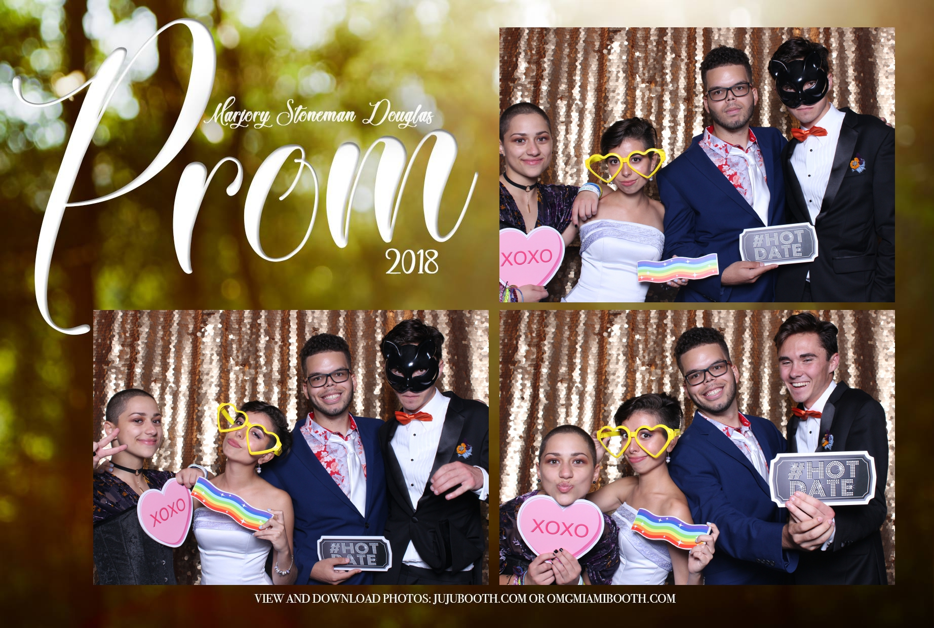 Stoneman Douglas Prom photo booth