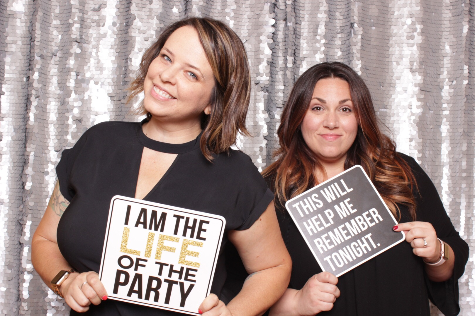 The Attendants - Professional, trained, and awesome - every rental comes with an attendant to assist with posing, props, and print handling. They'll even hold your drink as you have fun. Sorry, you can't keep them.