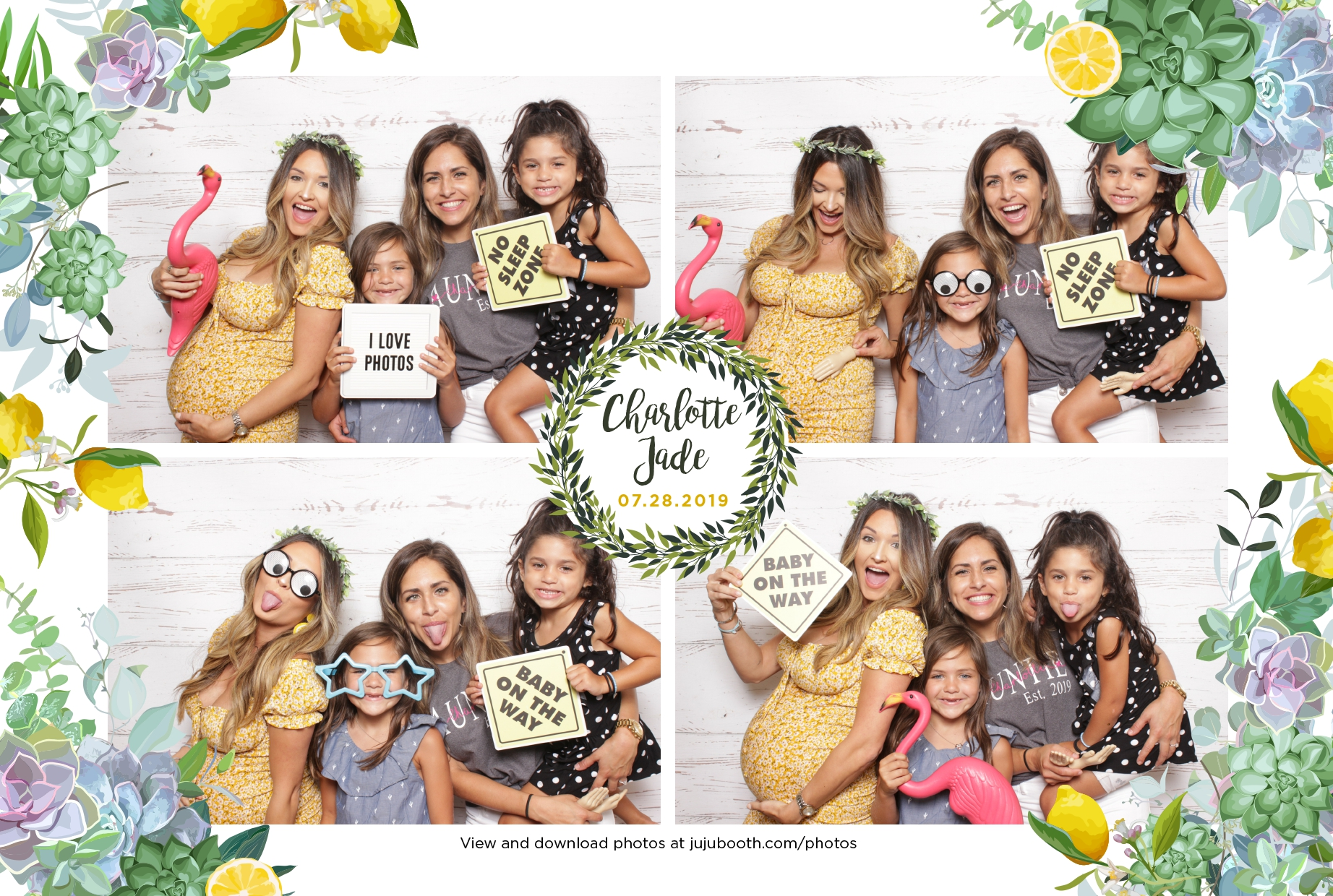 Florida-baby-shower-photo-booth-Coconut-Creek