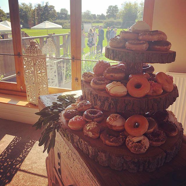 Congratulations Mr & Mrs Cummings! #weddingday #sunshine #donuts #perfectday