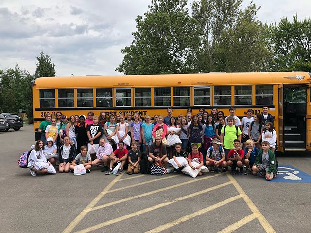 And we're off!! Looking forward to a great week in McCall #onward2k19