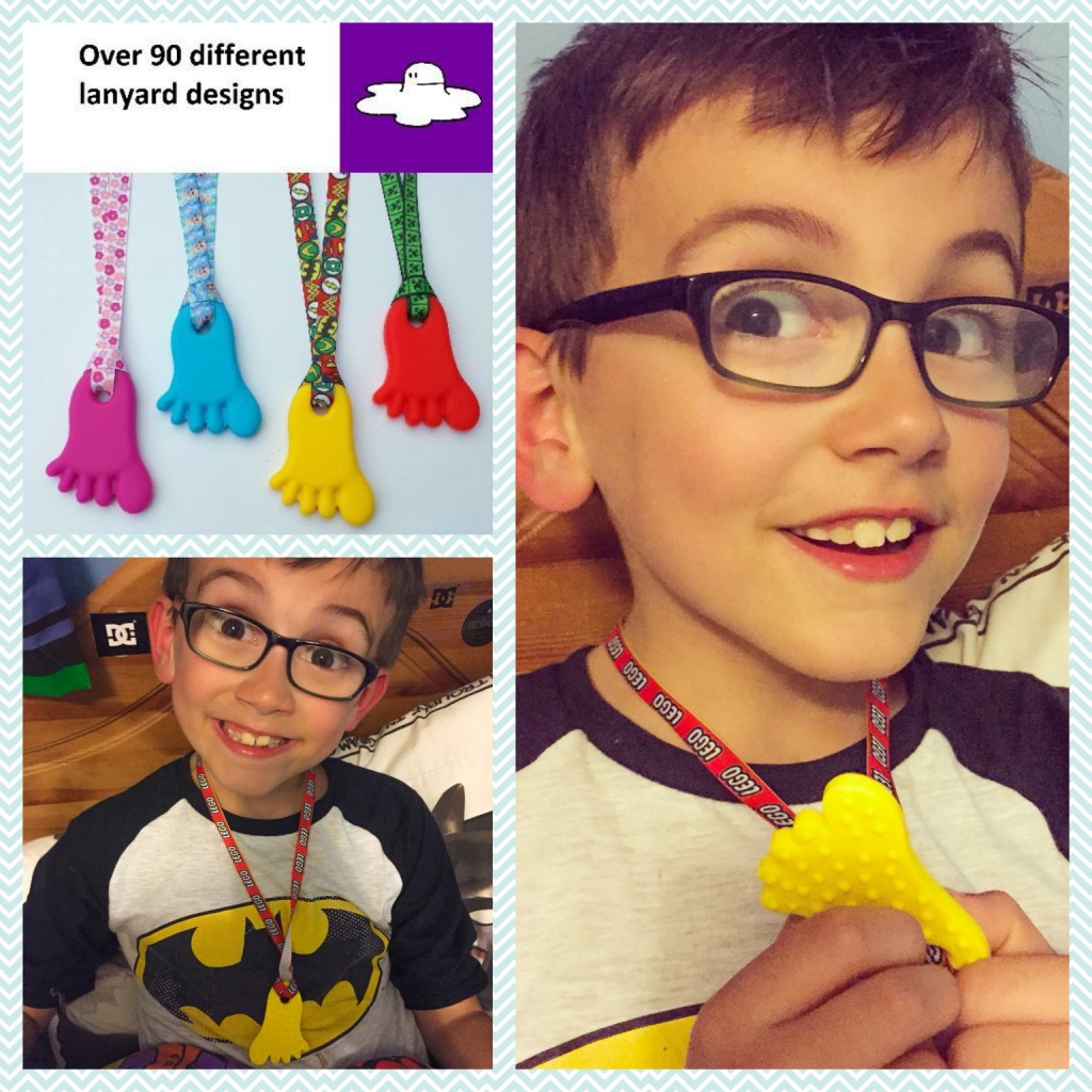 Mrs Mumsie's review of my chewy foot pendant
