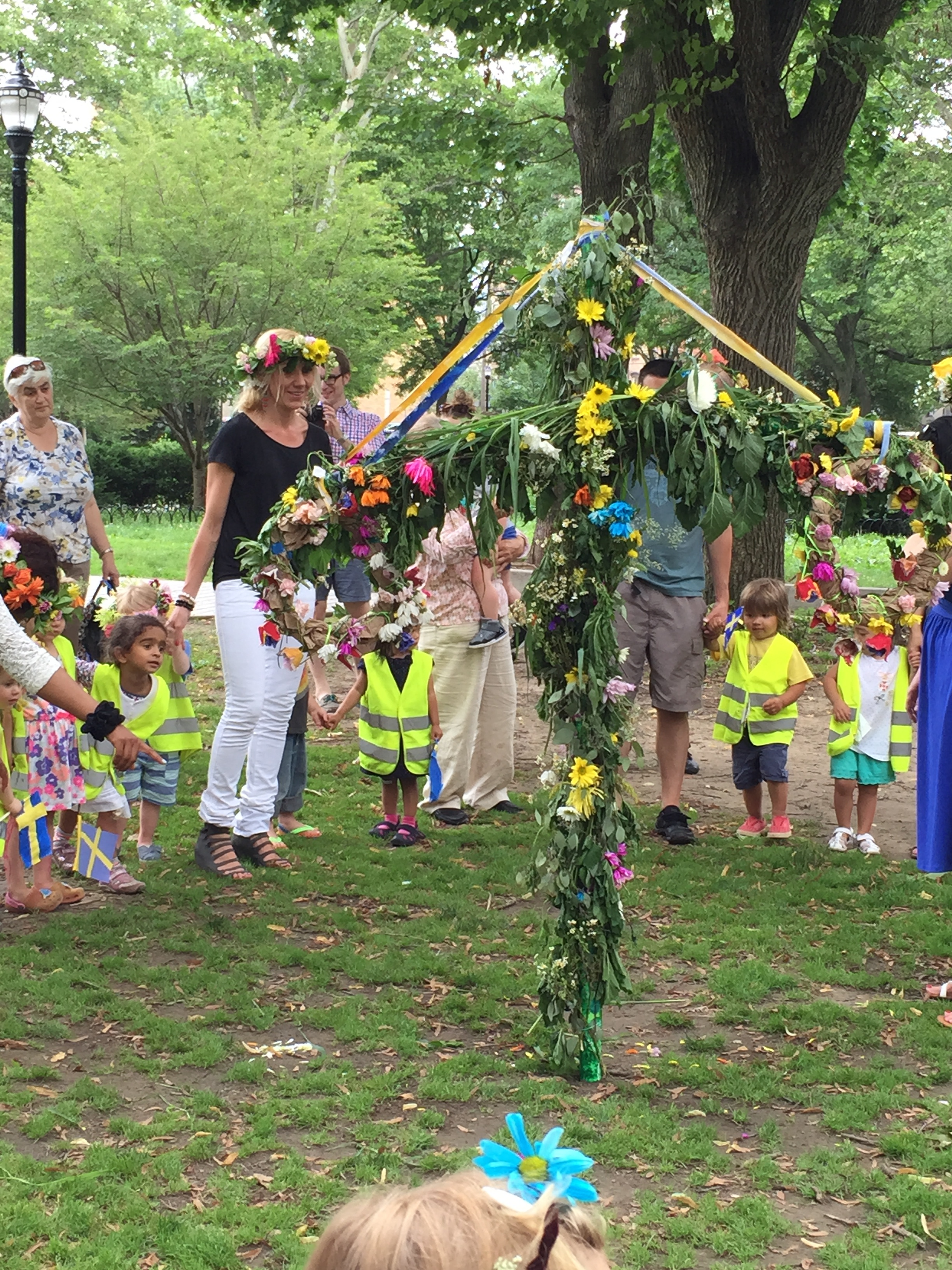 Annual Scandinavian Midsummer Celebration in Hamilton Park