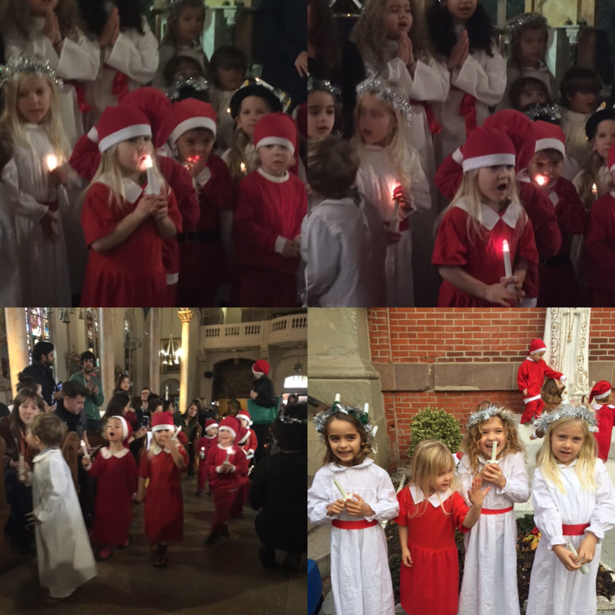 Annual Lucia Celebration at St. Michael's Church of St Jude in Jersey City