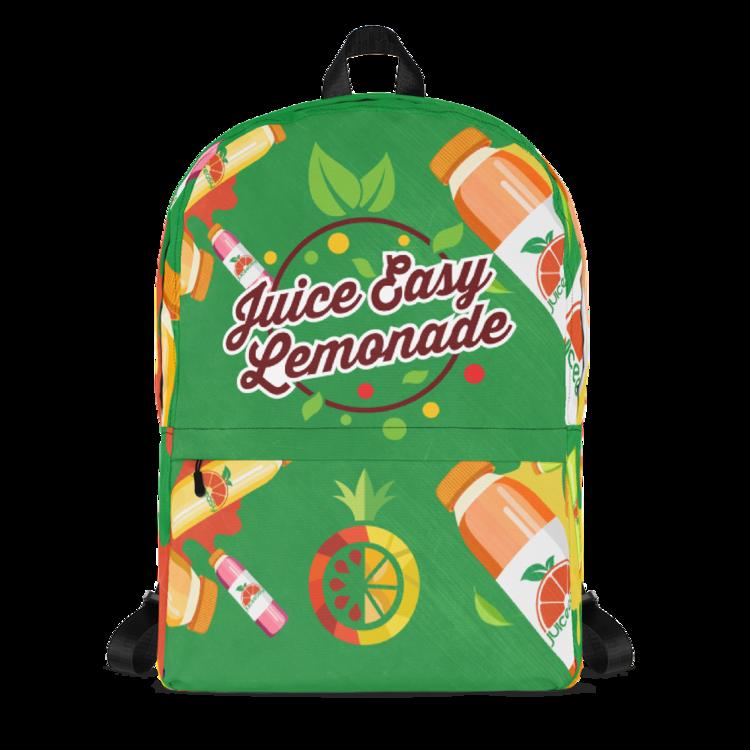 7017cd8df6 JUICE EASY LEMONADE GANG GREEN BACKPACK (LIMITED RUN) — JuiceEasy