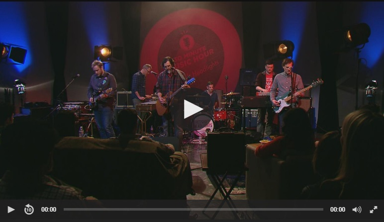30 Minute Music Hour hosts RSH - with Andy Moore on Wisconsin Public Television - March 2017