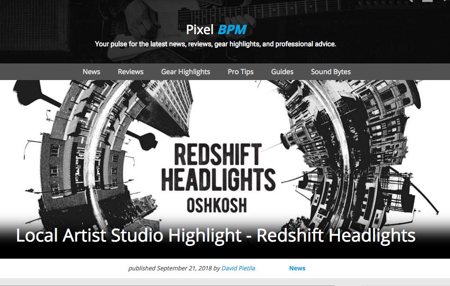 Local Artist Studio Hightlight w/ RSH - Pixel Pro Audio highlights