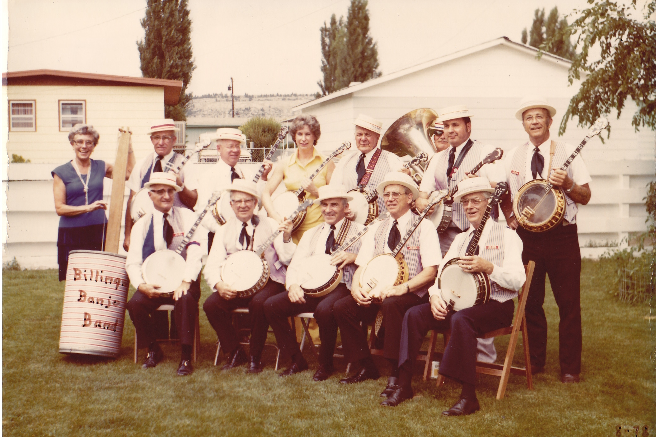 Billings Banjo Band, 1978