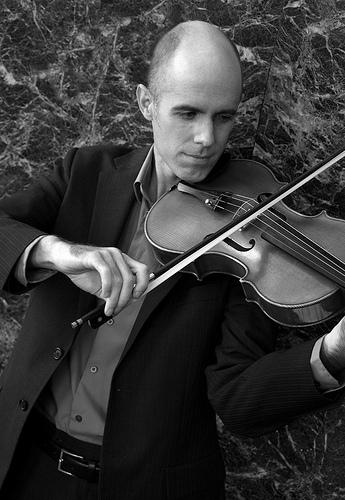 Jay Pike, violin and viola