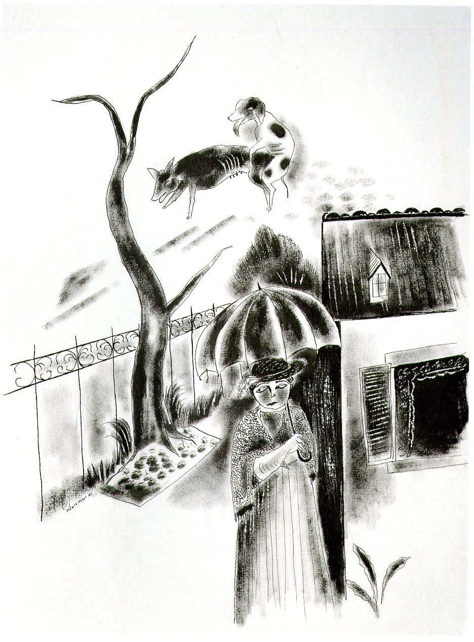 The Widow, 1921