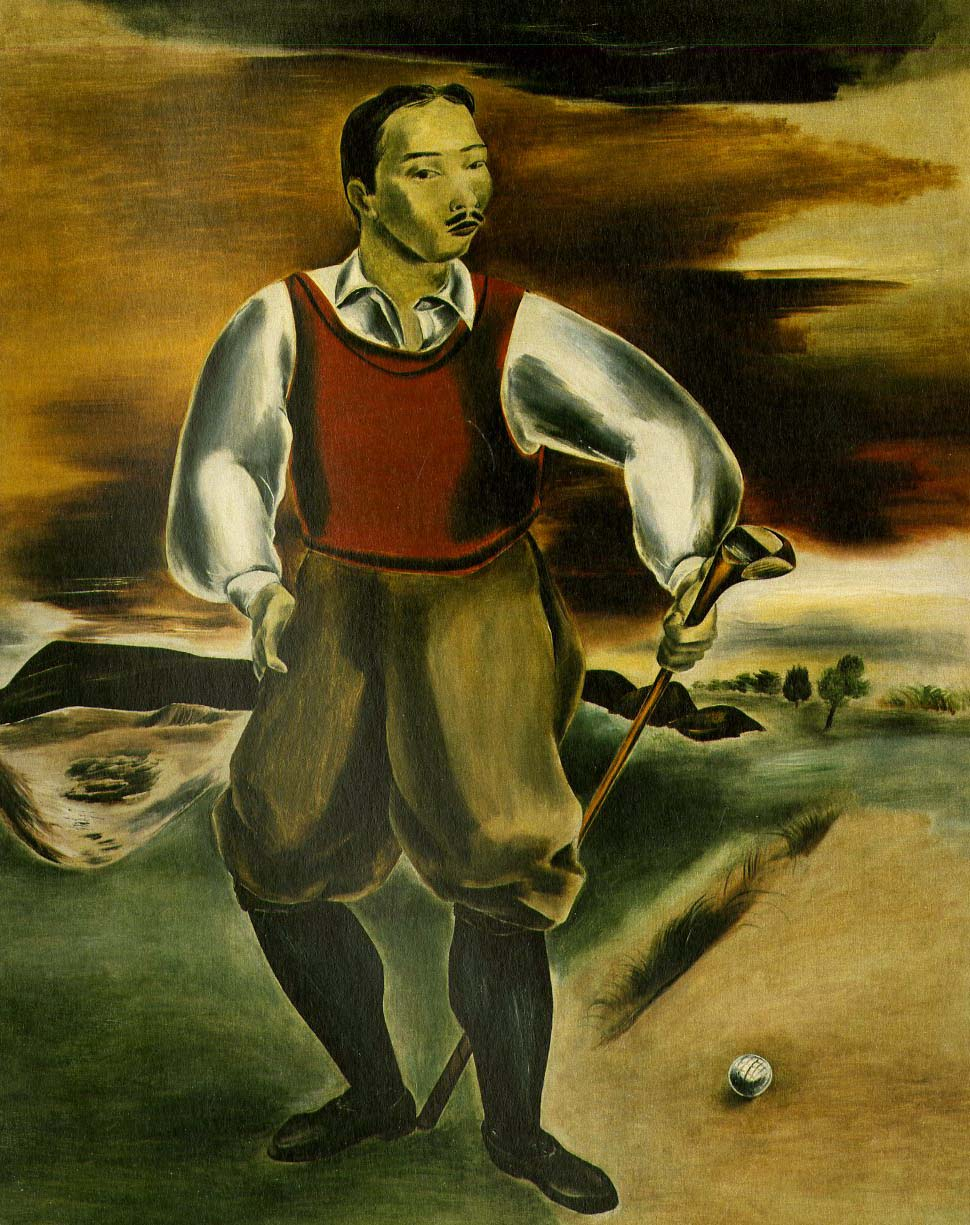 Self Portrait as a Golf Player, 1927