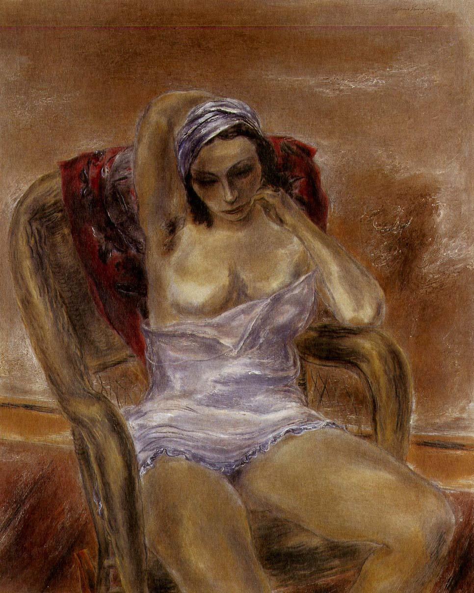 Girl Thinking, 1935