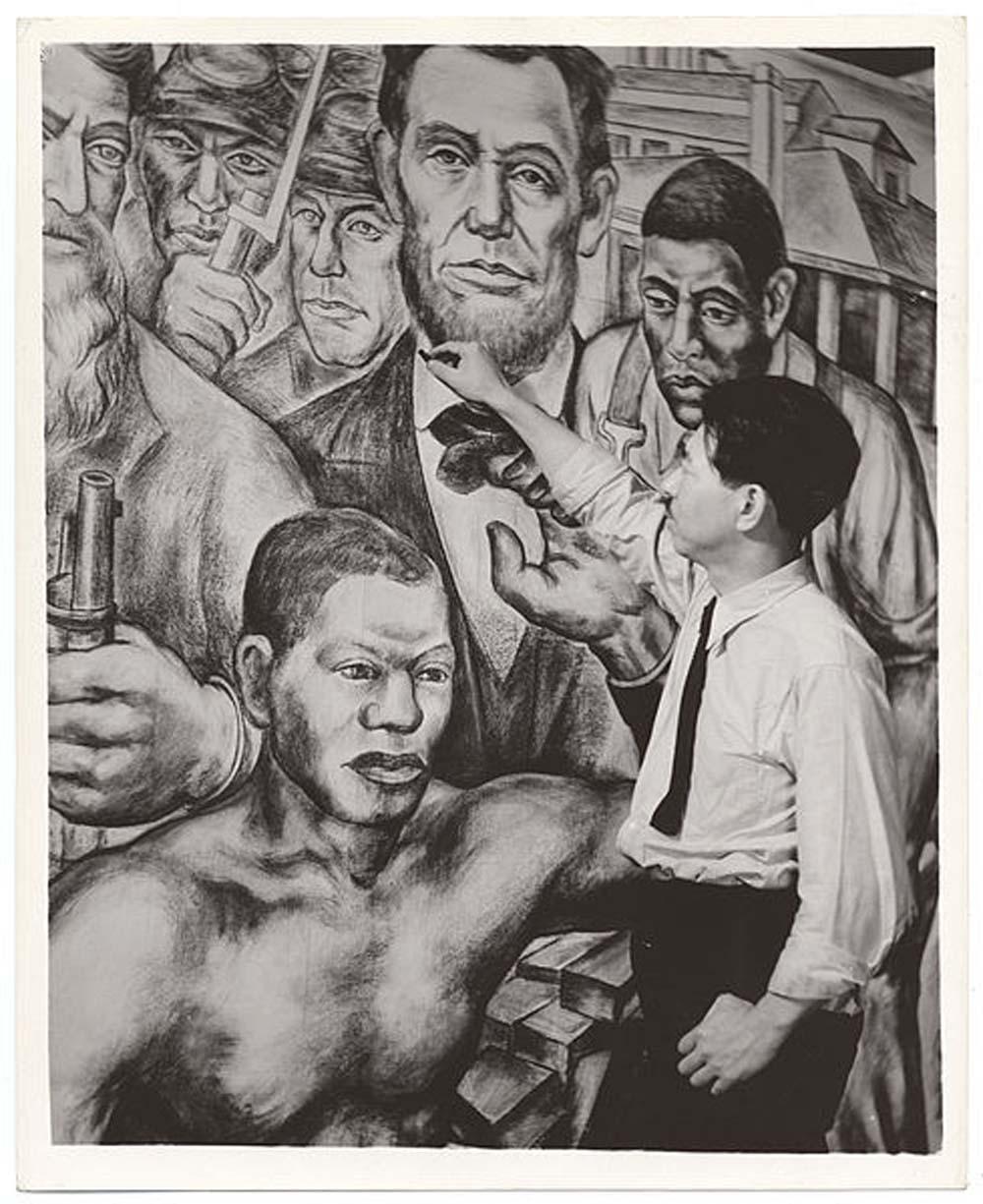 Harlem Courthouse Mural,  1937-8