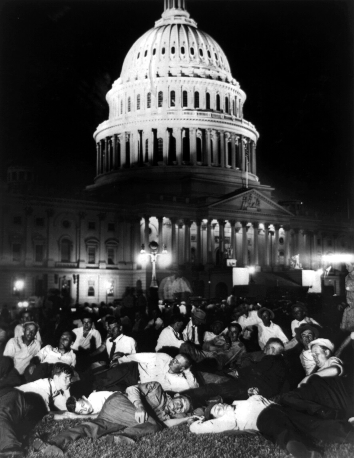 Bonus March @ US Capitol, 1932