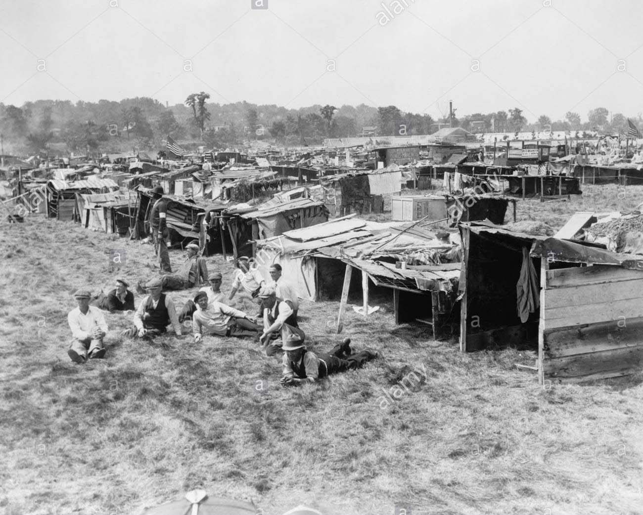 """""""Hooverville"""" Anacostia MD, 1932"""