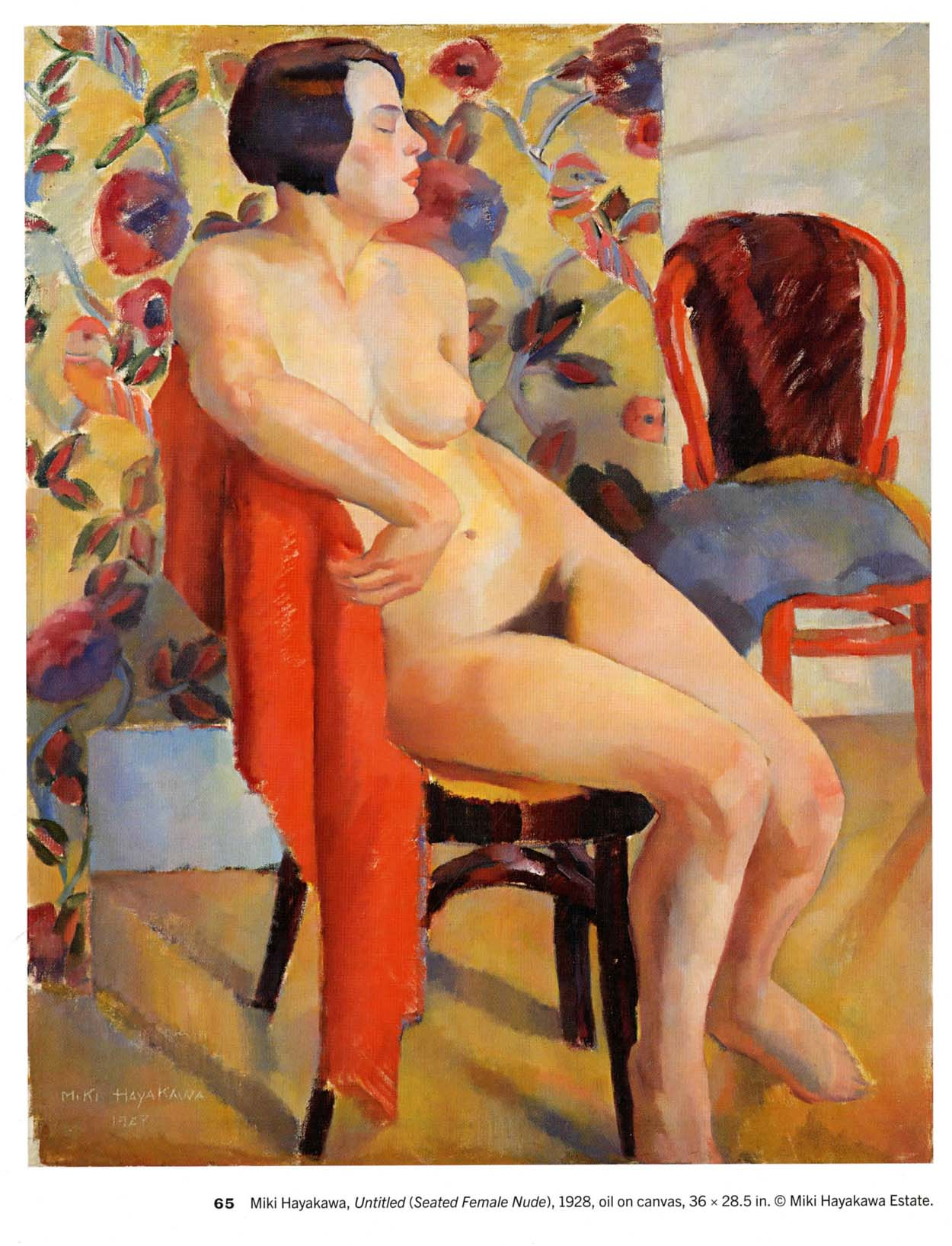 Seated Female Nude,  1928
