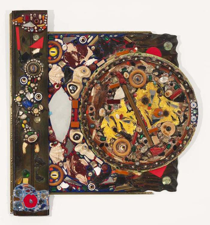 """Mirror Between , 1963  31"""" x 28 3/4"""" x 3"""""""