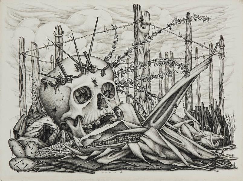 Skull & Corn,  1940