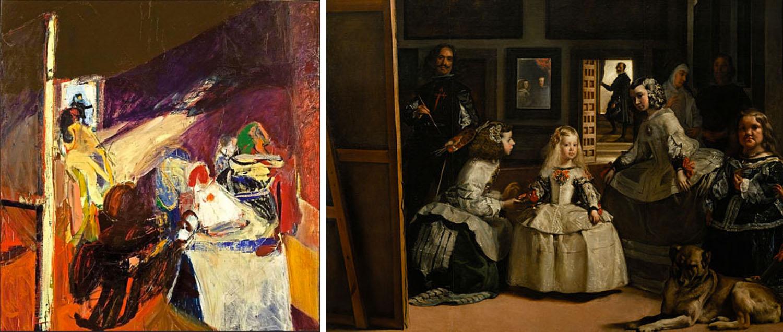 Bing's  Velazquez Family  (1961)and Velazques's  Las Meninas  (1656)