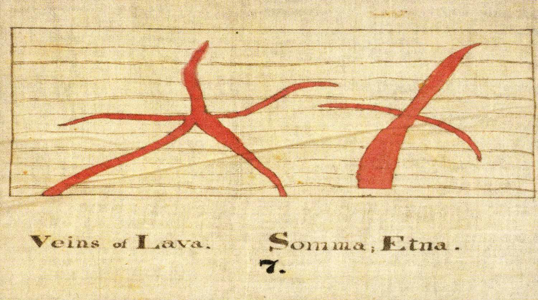 Veins of Lava,  1830-40