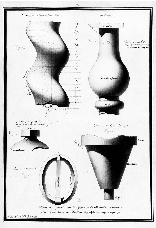 Twisted column, jar, baluster…  (1778)