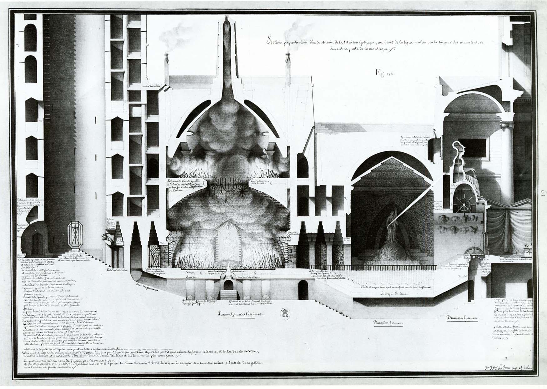 Underground chamber of Gothic house…