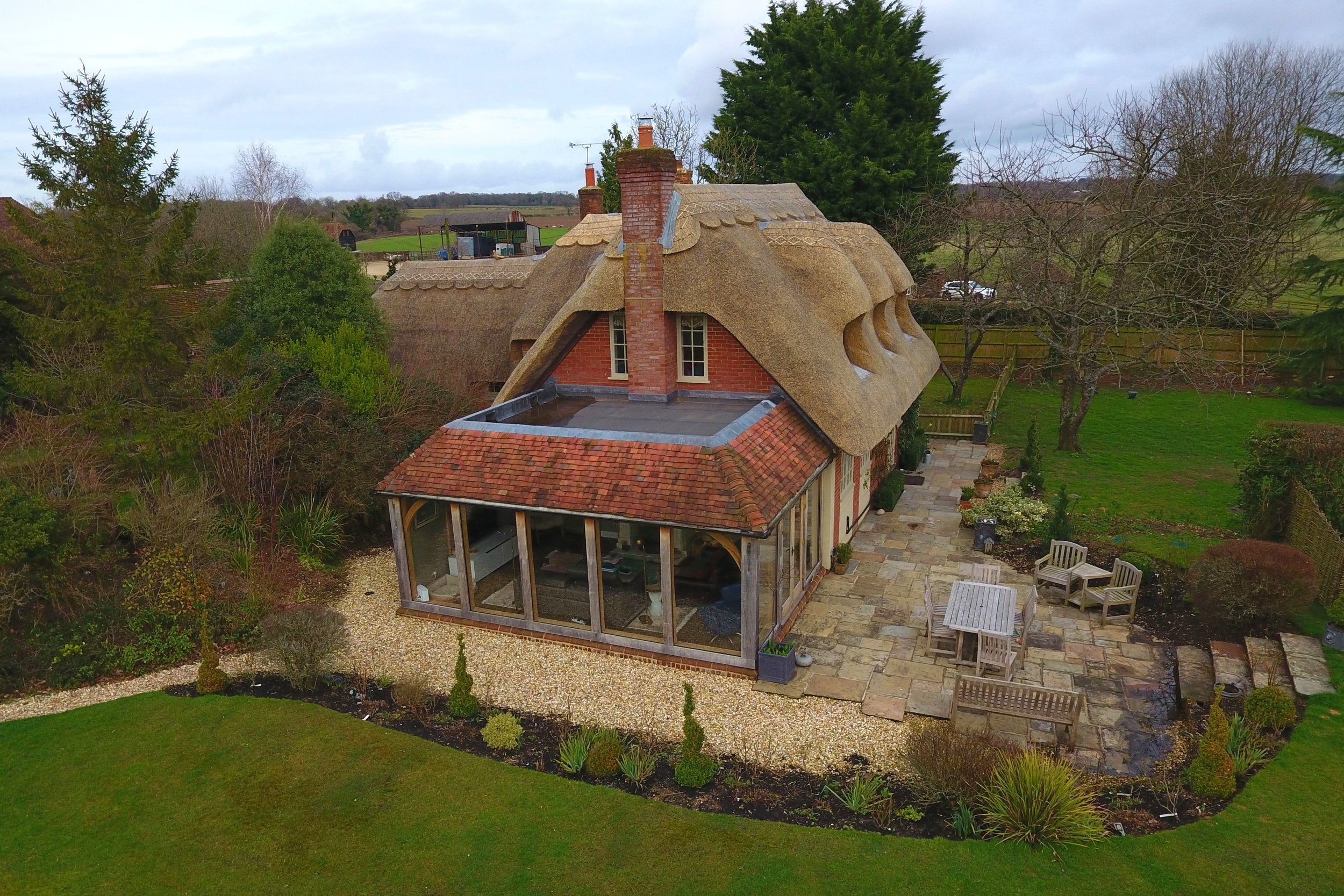 A recently completed project in the Test Valley, Hampshire, England