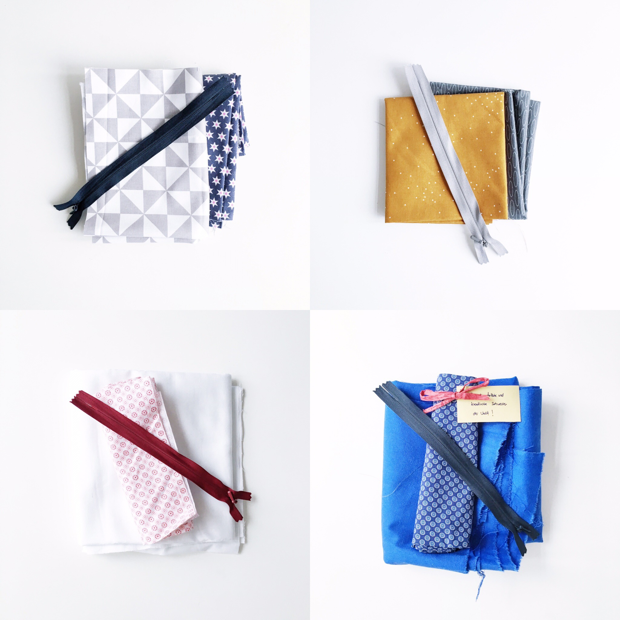 Sneak peek: First step of making zipper pouches that will be available in the Etsy shop!