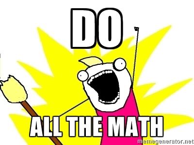 Do all the math