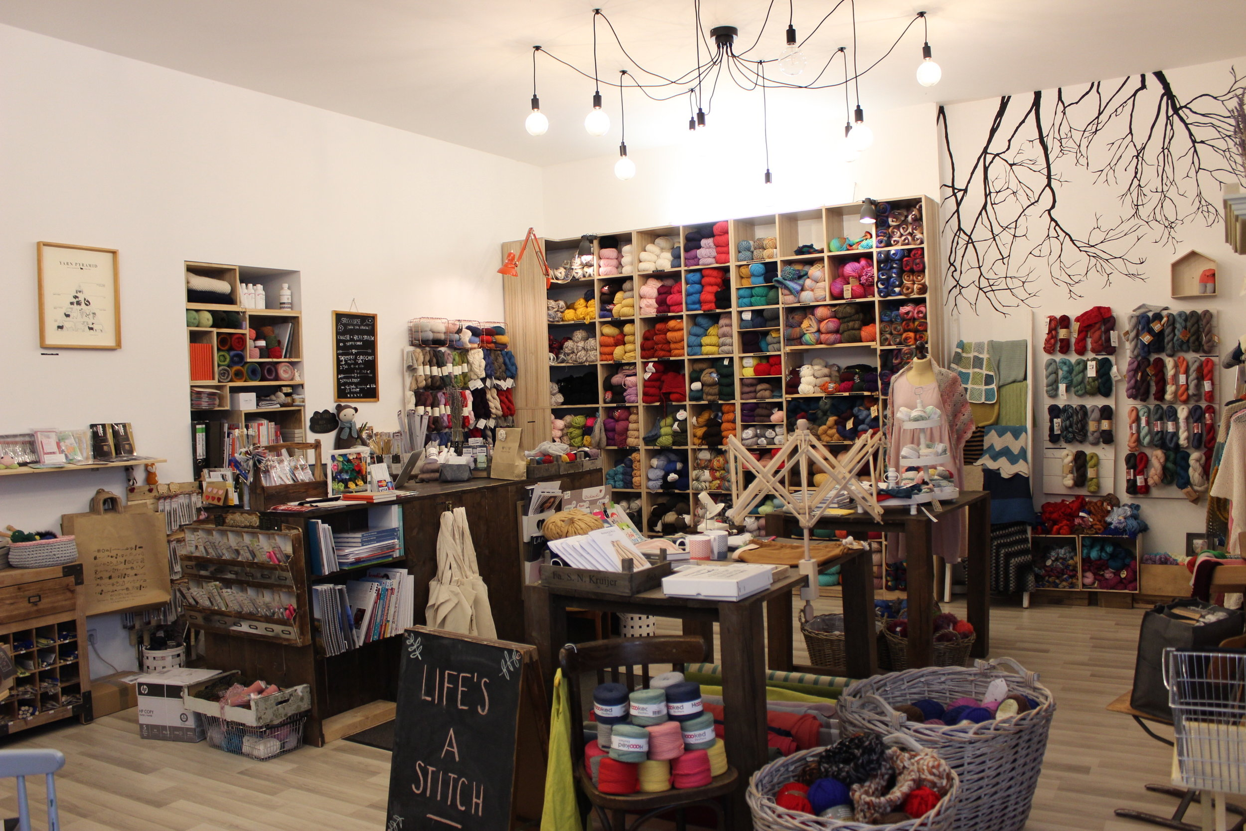 You can see and feel all the love that goes into curating and setting up the shop in every corner.