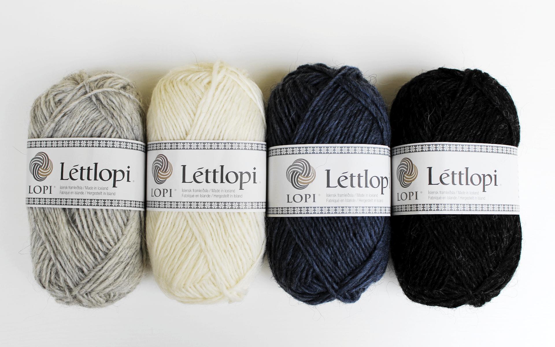 All the Léttlopi colors!!