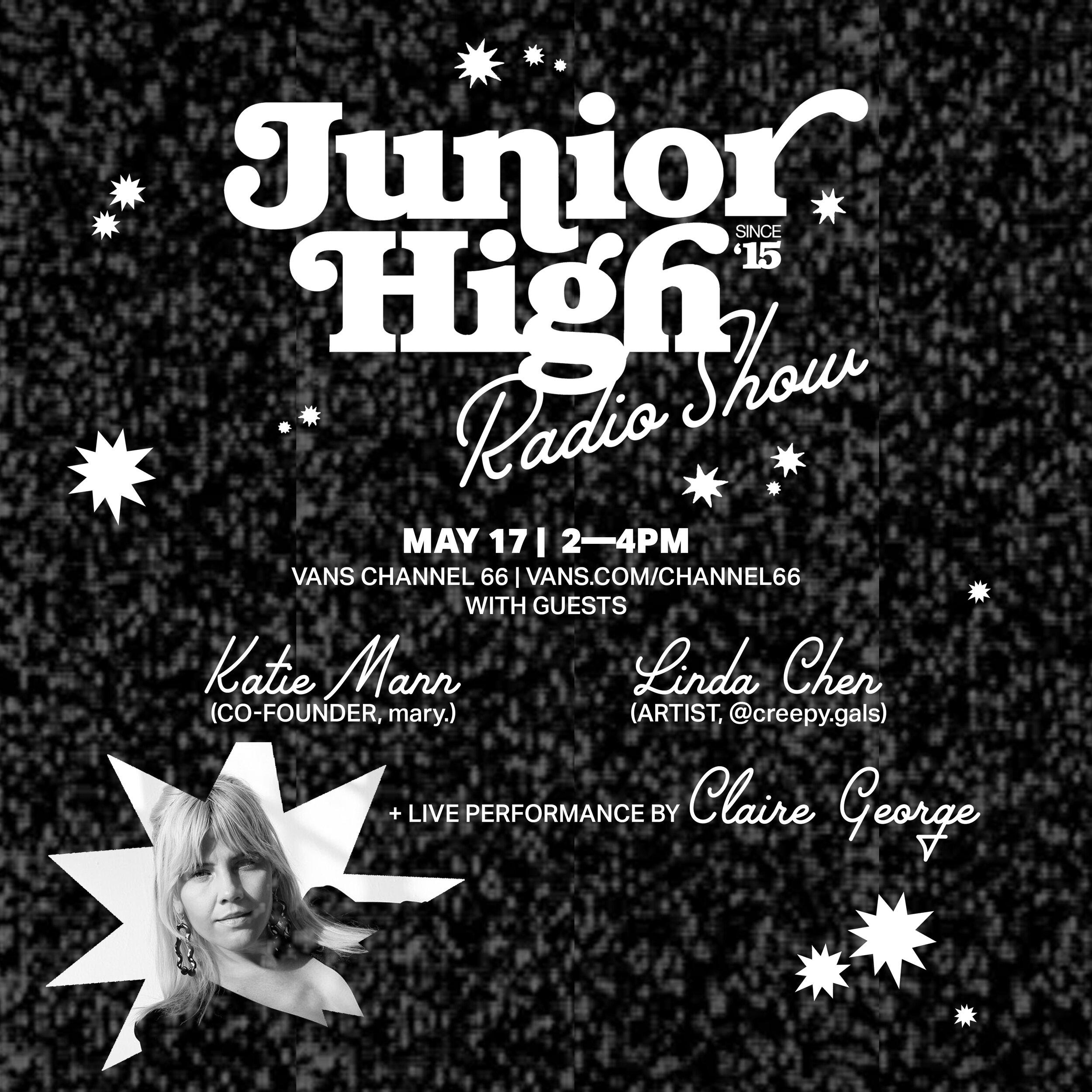 Junior High Radio Show   VANS CHANNEL 66 — Junior High