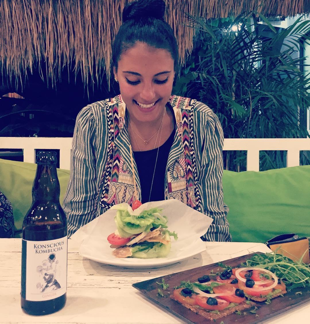 Kombucha, raw food, and that idyllic Bali setting we all dream of...