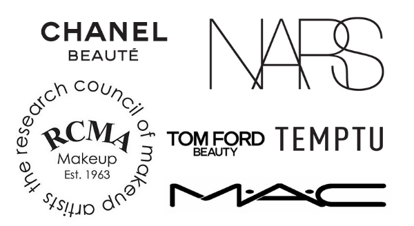 Makeup Brands used by PreauxFace New Orleans MAC Cosmetics, Chanel, NARS, Tom Ford, Hourglass, RCMA professional brands for on-location beauty, makeup and hair styling