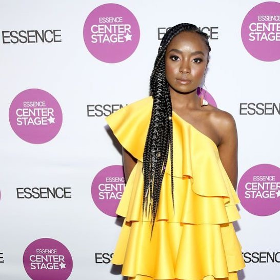 Kiki Layne during Essence Festival. Makeup by PreauxFace Lead Artist @the_marvelous_mrs.mora 🙌🏽 photography: unknown, please tag the photographer if you know so we can credit properly!