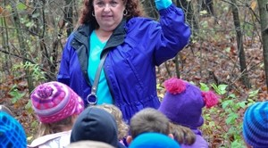 A 2011-12 grant provided a field trip to Cass County's Russ Forest by all the kindergarten classes of Diana Lung, Ashley Henderson, Jessica Venhaus and Tabitha Heiermann.
