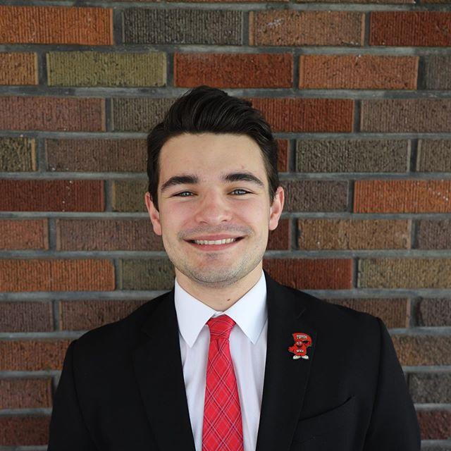 """#MeetTheRiders🚴♂️ Our second 2019 rider is Tucker Phelps! """"Hello everyone, my name is Tucker Phelps. I am from Frankfort, Kentucky and am a junior majoring in Nursing."""" We asked Tucker a few questions about his experience on the ride so far. Find out more about Tucker and our other riders on the """"Meet The Riders"""" page on our website! #Bike4Alz"""