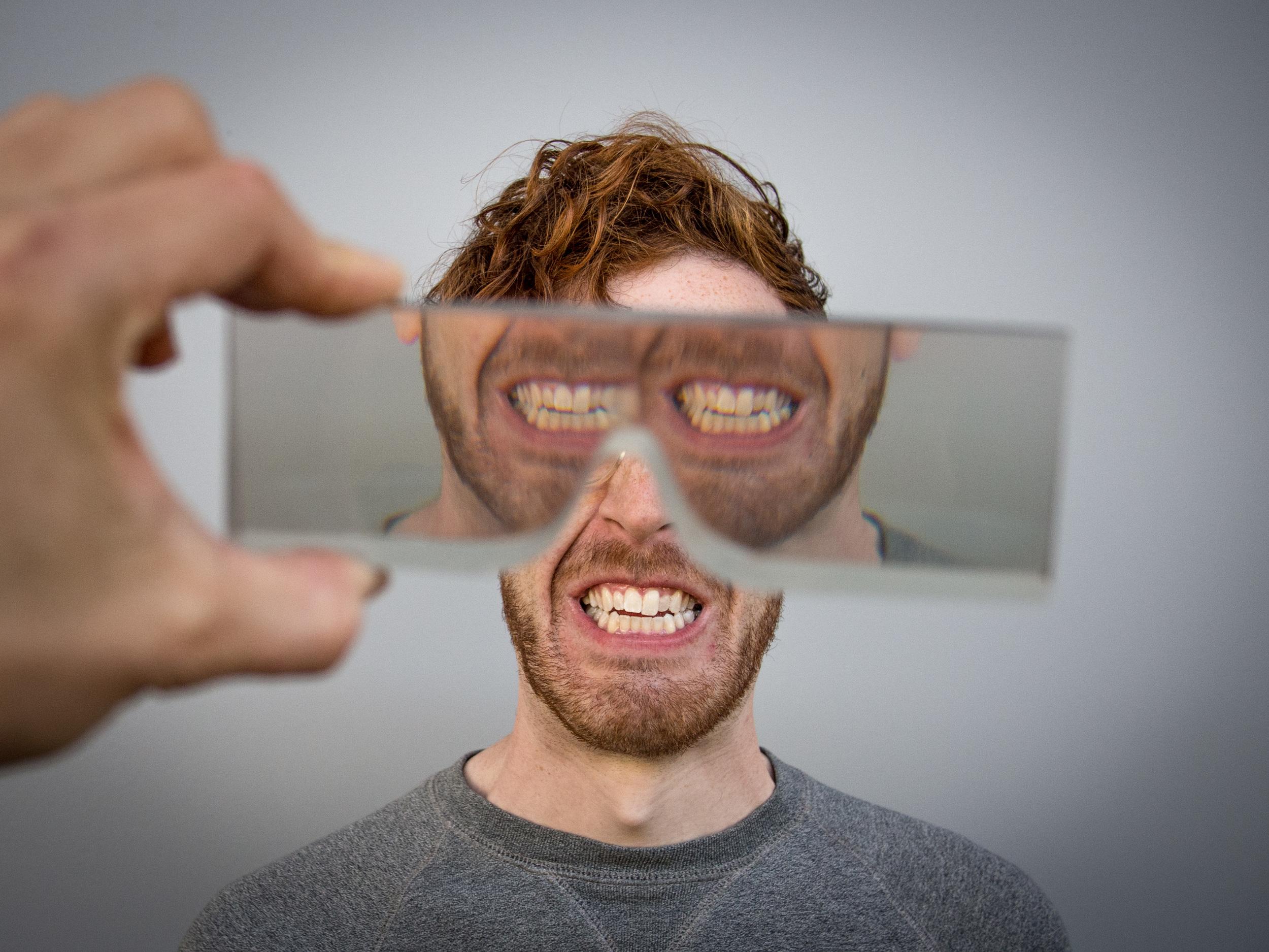 Mouth as Eyes Lens