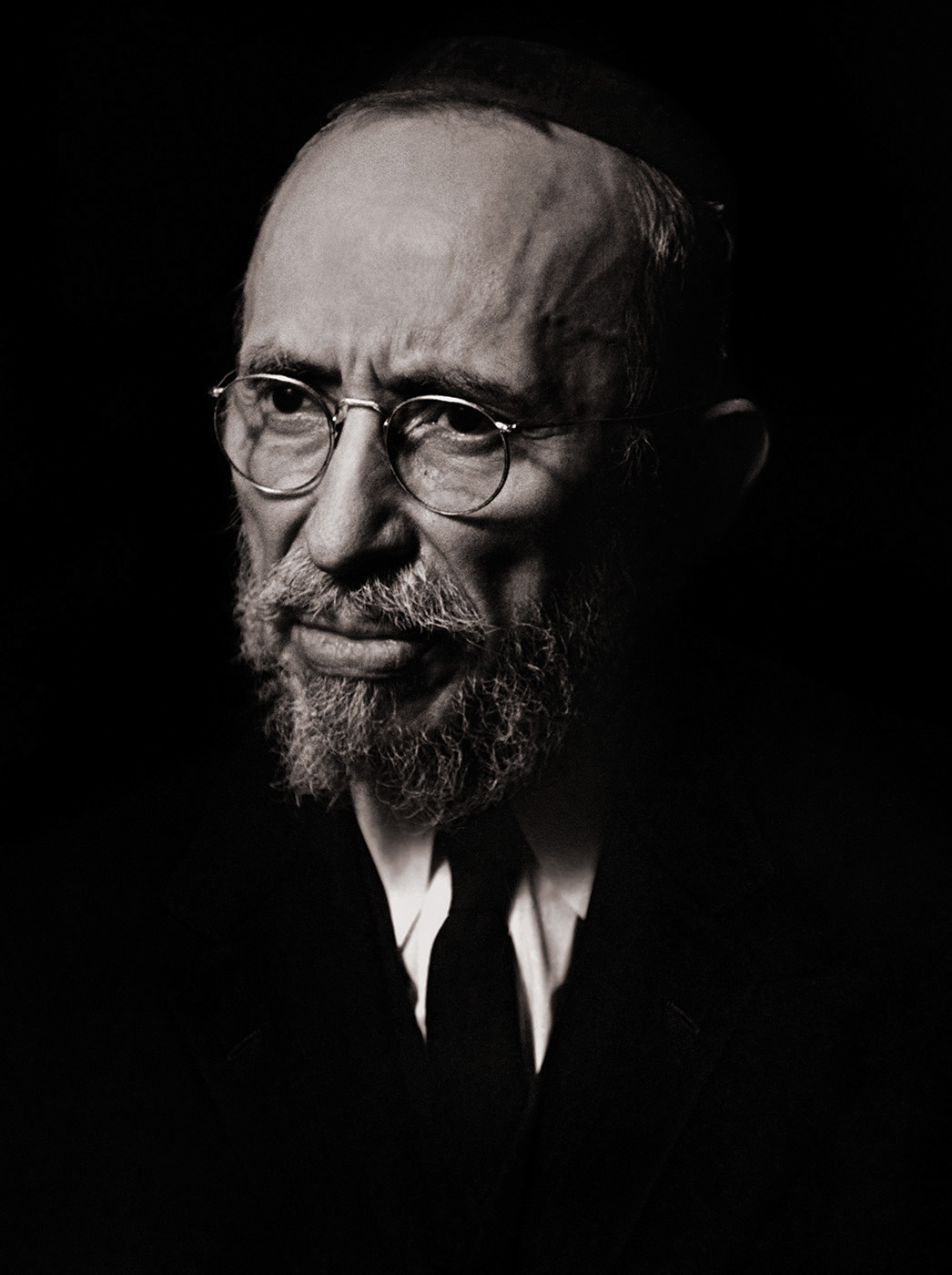 Rabbi Schoenfeld, New York, 1940