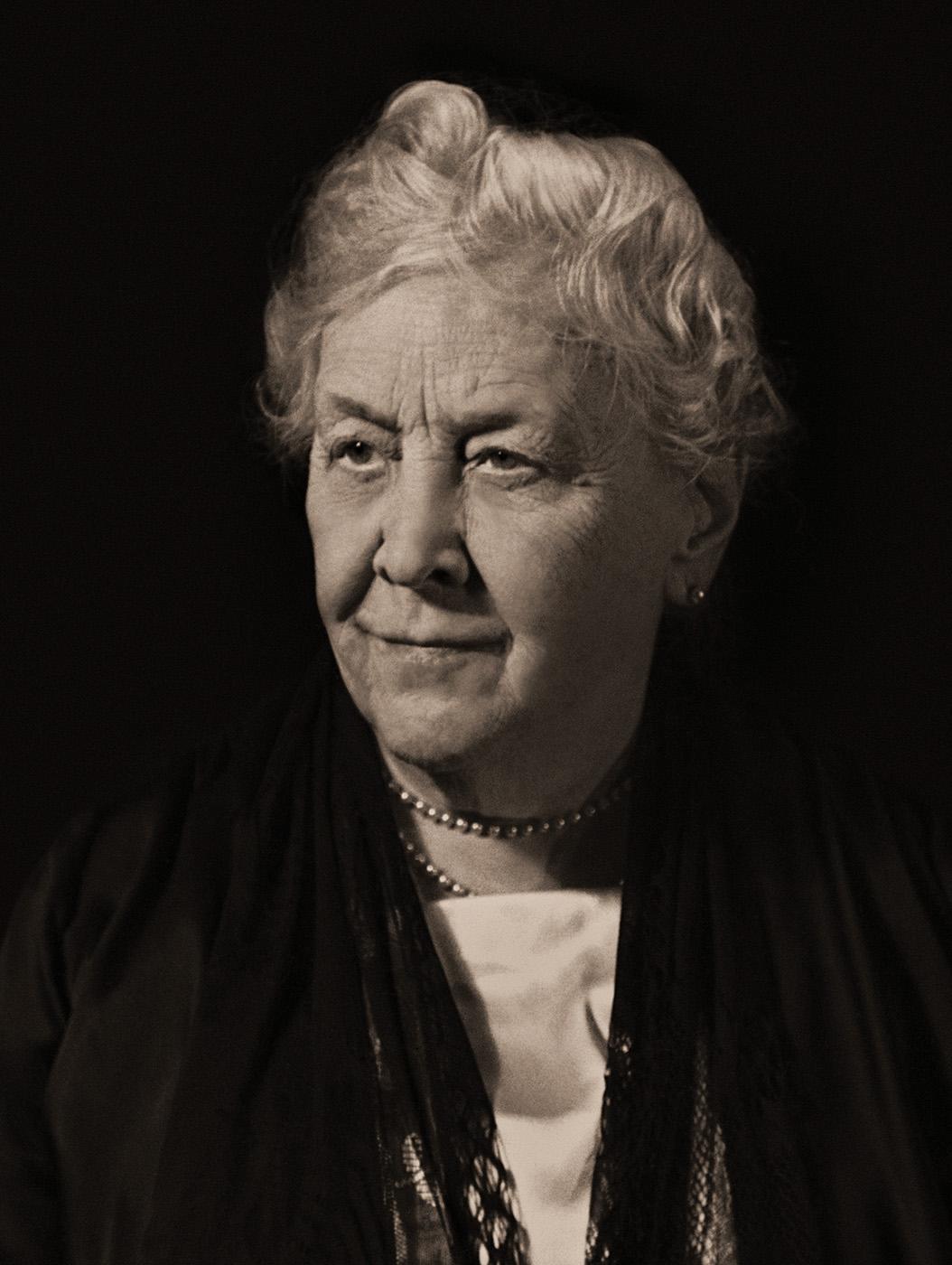Sara Delano Roosevelt, mother of FDR, 1939