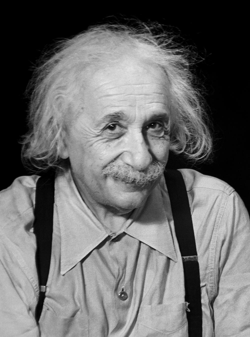 Albert Einstein , Princeton, NJ ,1950