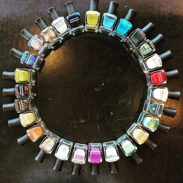 Her kan du slå deg løs for en hundrelapp!  Flotte neglelakker fra Deborah Lippmann kr 100 (før kr 169) Kun torsdag-lørdag #farsund #utihundre #deborahlippmann #neglelakk #thesunisshining #🌼