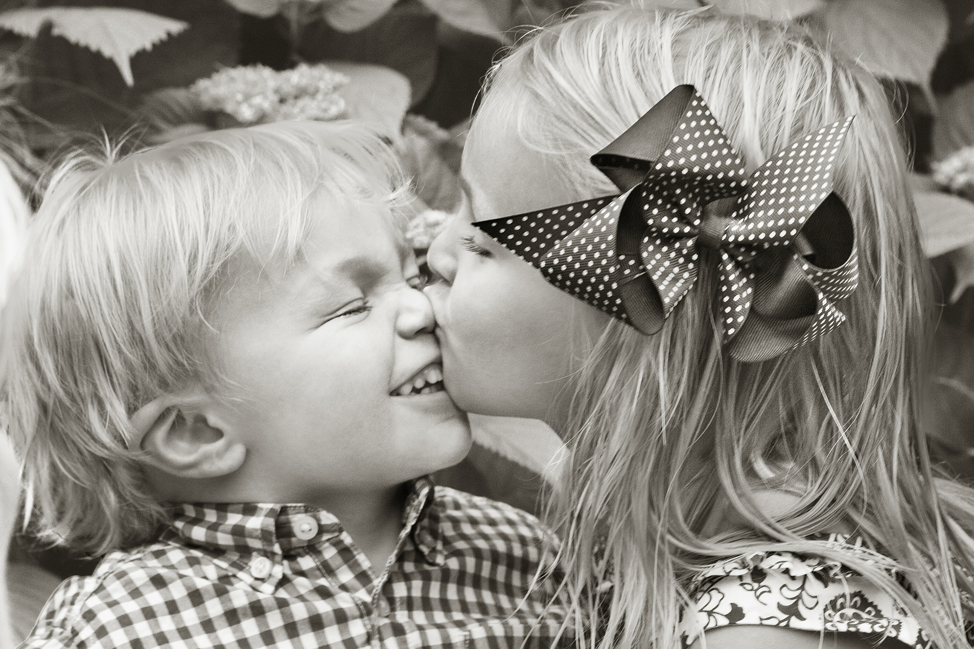 Sibling Kisses
